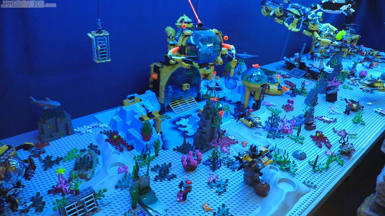 Expanded Lego Deep Sea Exploration Display