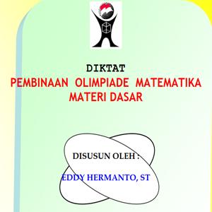 Buku Pembinaan Olimpiade Matematika Materi Dasar