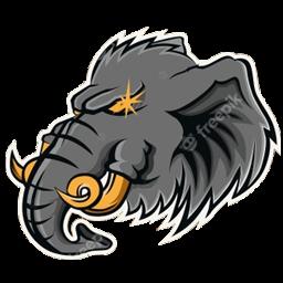 logo gajah vektor