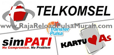 Pulsa Transfer Telkomsel Murah Raja Pulsa