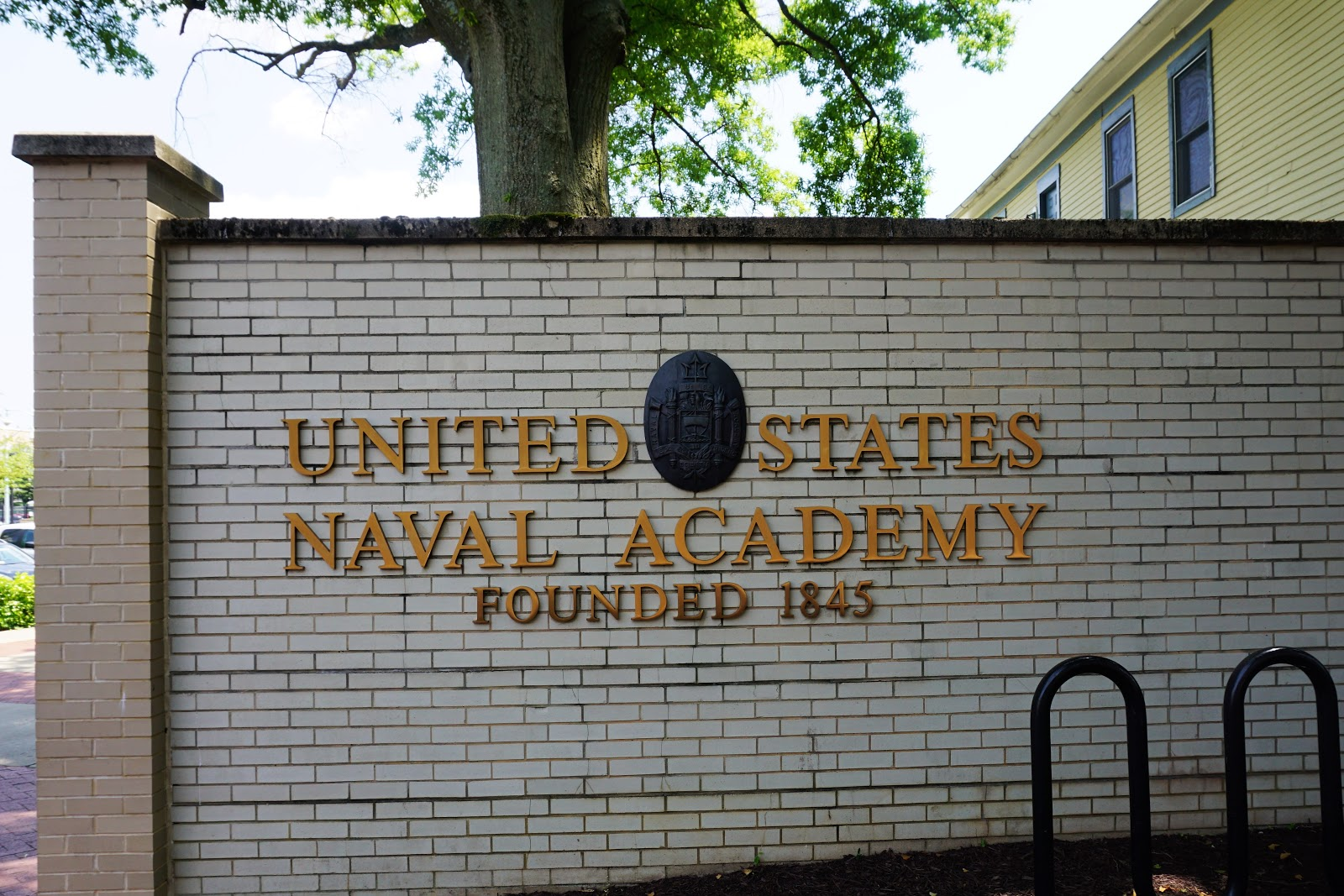 for the united states naval academy founded here in 1845 in addition to visiting state capitals we also like to visit major universities