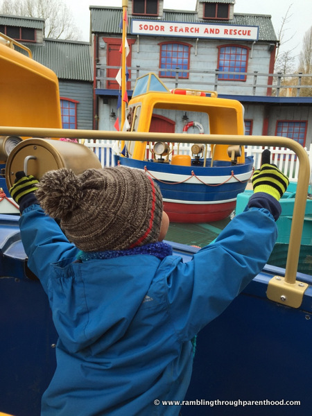 Captain's Sea Adventure in Thomas Land