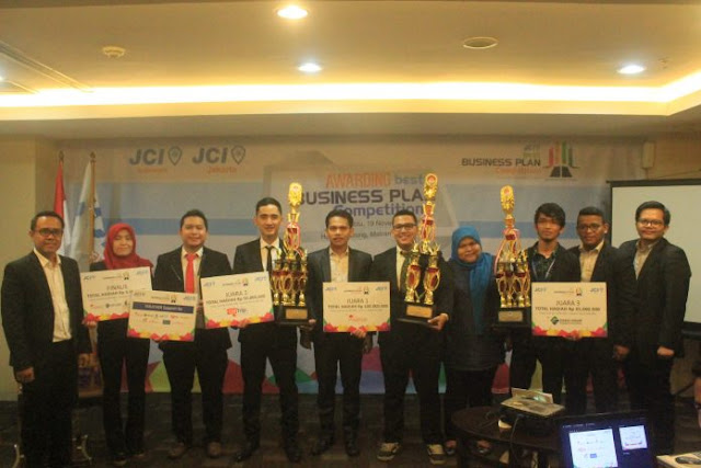Muhammad Ihsan dari Aceh pemenang JCI Best Business Plan Competition 2016