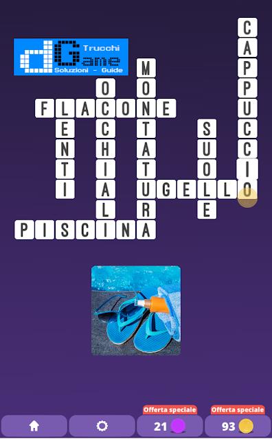 Soluzioni One Clue Crossword livello 22 schemi 9 (Cruciverba illustrato)  | Parole e foto