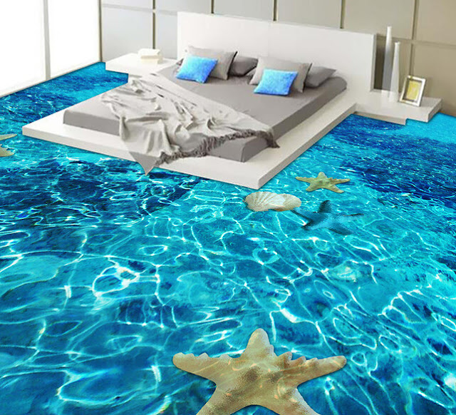 3d bedroom floor tiles for realistic view