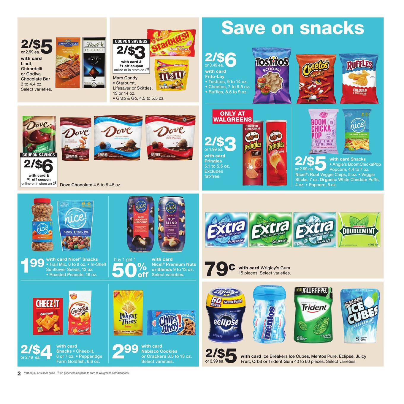 Walgreens weekly ad 4th of July 2018 - Must Haves - Coupons
