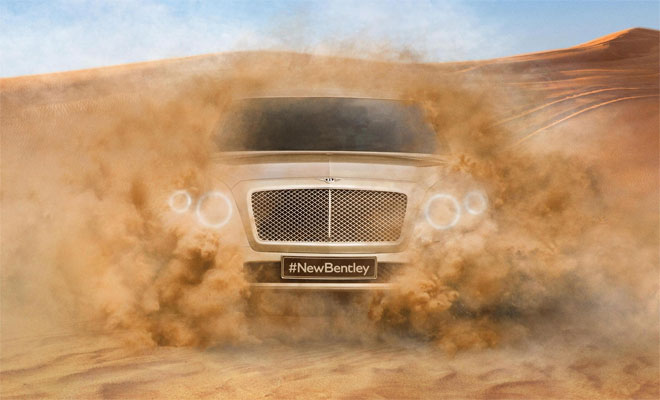 Bentley SUV is due in 2016