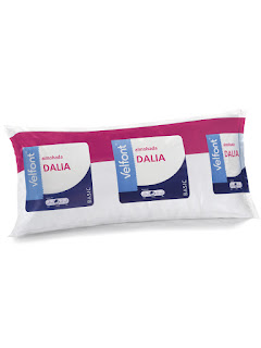 Almohada de fibra DALIA de Velfont.