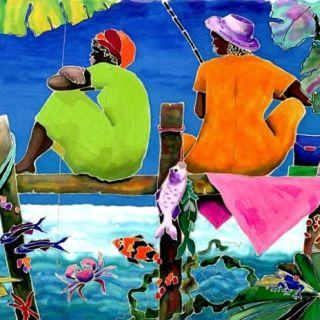 Тропический рай. Marjolein Scott-van der Hek