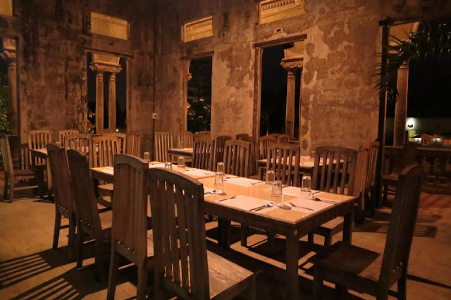 The Ruins Dining Area