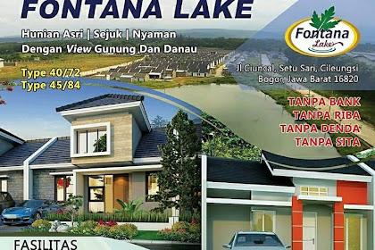 Fontana Lake Perumahan Syariah  Terbaru Di Setu Cileungsih Bekasi