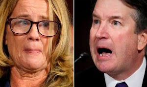 US Supreme Court Nominee Burst Into Tears While Denying S*x Assault Allegation (Photos)