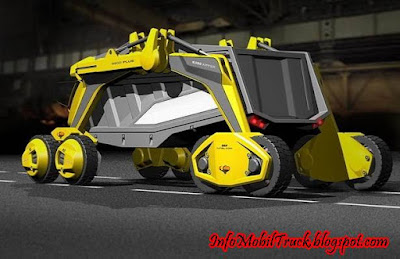 Model modifikasi dump truk yang akan datang