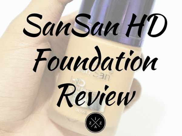 San San HD Liquid Foundation Review