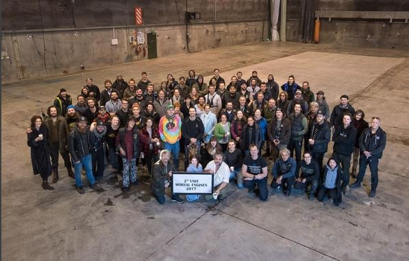second unit group photo from Mortal Engines