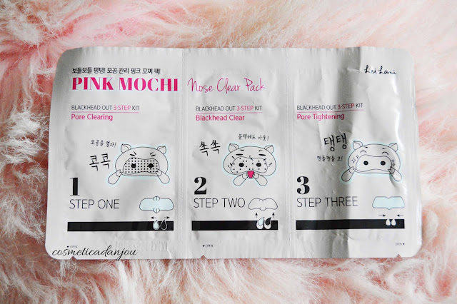 lei lani pink mochi nose clear pack