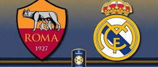 القنوات الناقلة لمباراة روما وريال مدريد