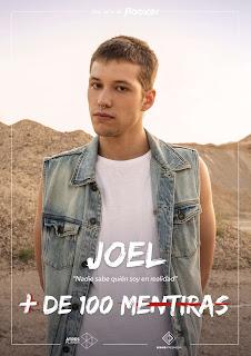 Joel en la serie juvenil '+ De 100 Mentiras'