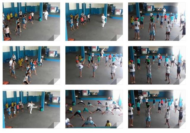 Aulas de Taekwondo no Escola da Família da Escola Yolanda
