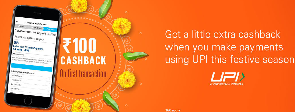 ICICI Pockets UPI Offer: Get 50% Up to Rs.100 Cashback on First Transaction via Pockets UPI