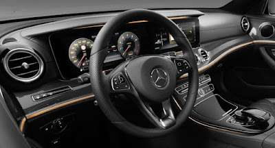 Mercedes-Benz E-Class all black interior hd wallpapers
