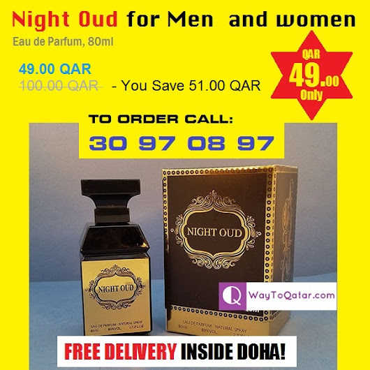Night Oud for men and women - QAR 49/- Only | 51% OFF