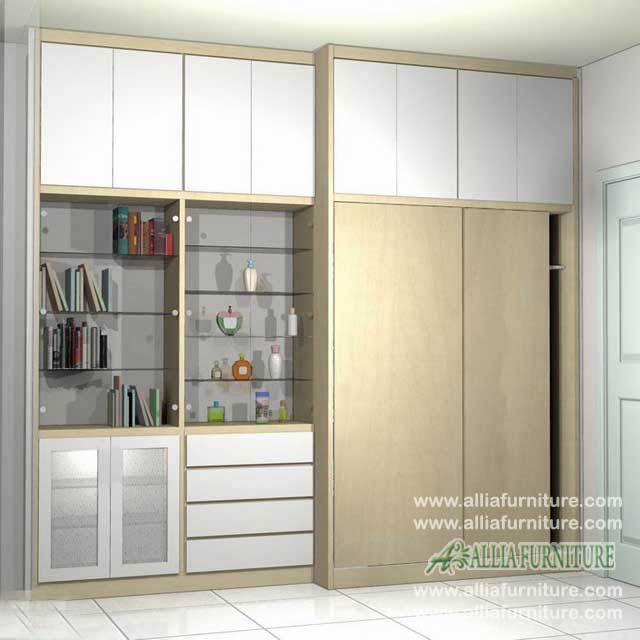 lemari pakaian minimalis multifungsi U3
