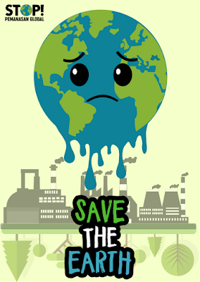 Poster Save The Earth R I N A B L O G