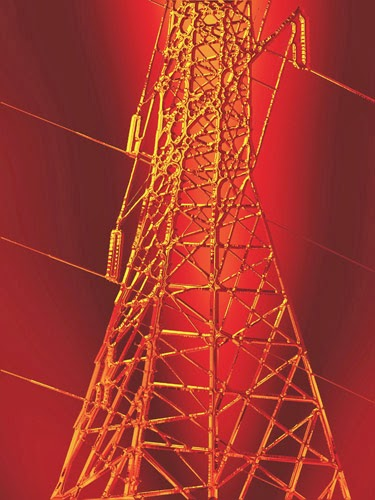 Hot electrical tower image by Wendy J St Christopher art166.com