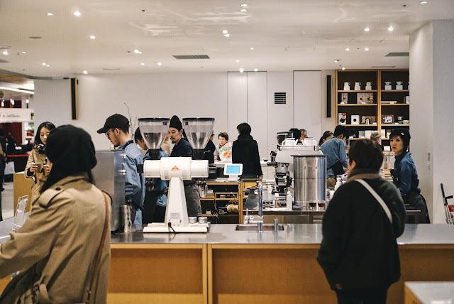 Blue Bottle Coffee - Shinjuku