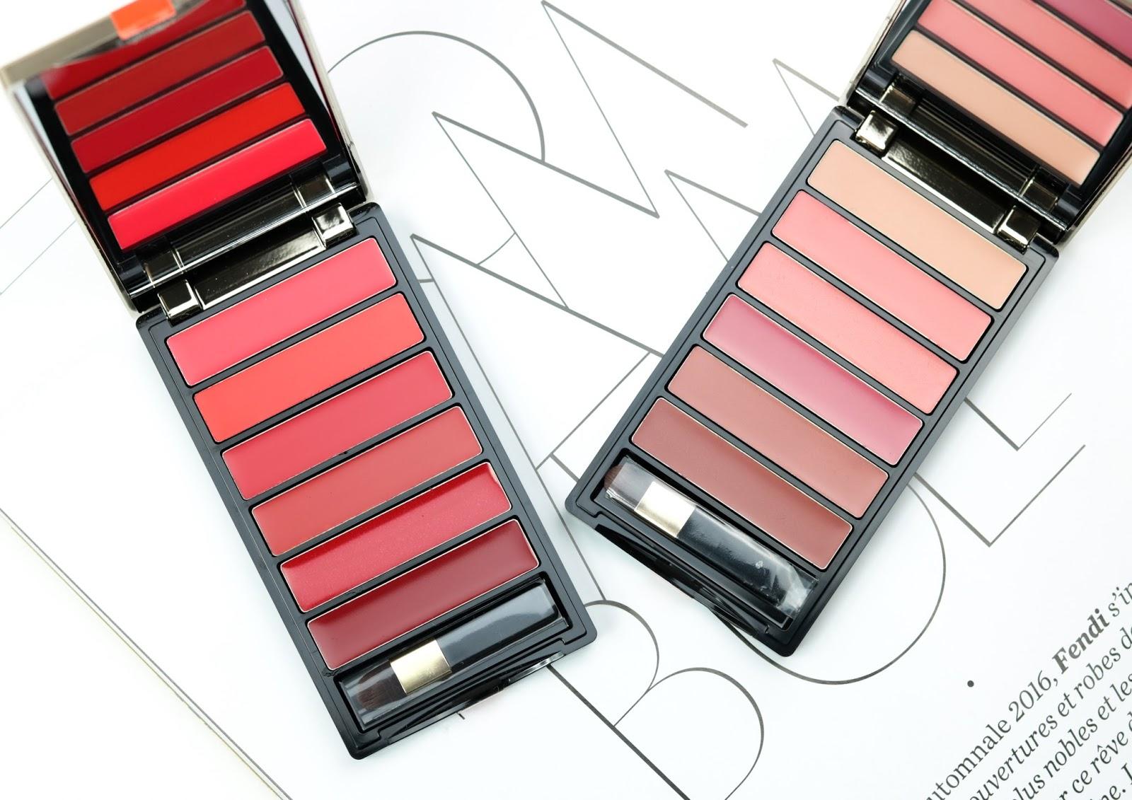 Color Riche de L'Oréal La palette lèvres  Red et Nude Avis et Swatch