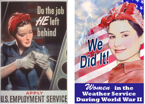 The contribution of women during the war in america