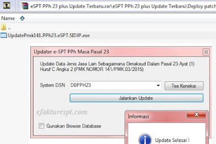 Aplikasi eSPT Masa PPh 23/26 Terbaru Plus Patch Update