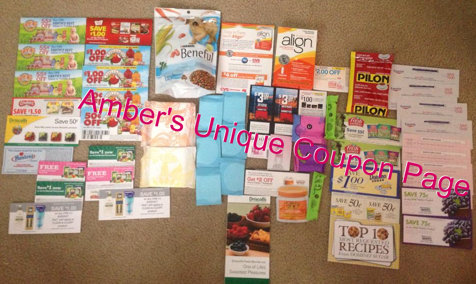 Amber's Unique Coupon Page: My Coupons/Freebies by Mail Week 20!