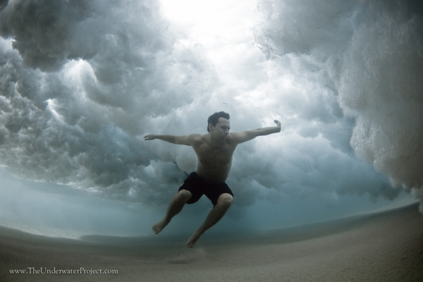 Increíbles e imperdibles fotos bajo el agua en el mar.