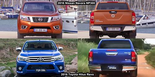 nissan navara toyota hilux 2 muaxegiatot vn - So sánh xe bán tải Toyota Hilux 2019 và Nissan Navara 2019