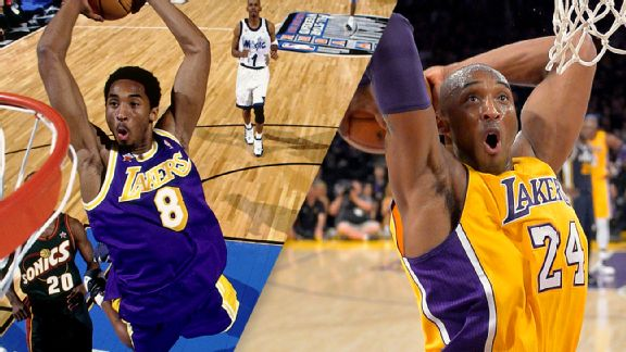 d9689141af7 Lakers will retire both of Kobe Bryant s numbers