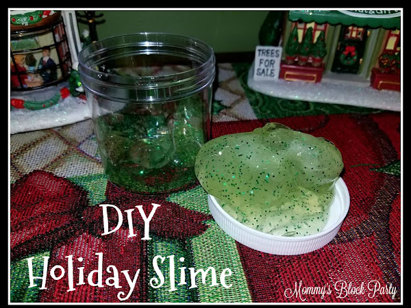 DIY Holiday Slime Made Easy Thanks to Maddie Rae's Slime Glue #MBPHGG17