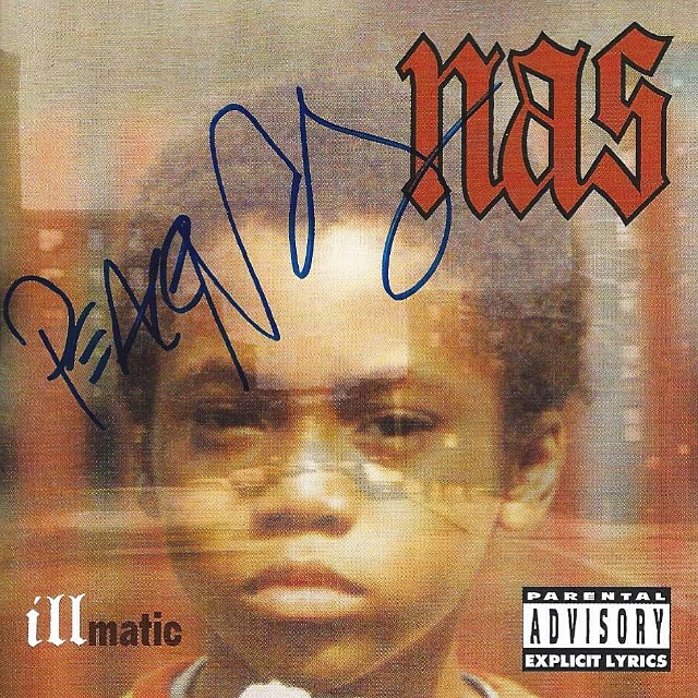 Nas Illmatic Autographed 1994