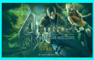 Resident Evil 4 Lite 25mb Apk + Data Terbaru