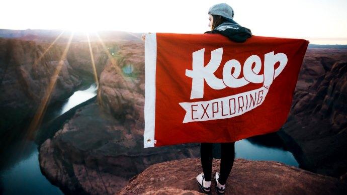 Wallpaper: Keep Exploring