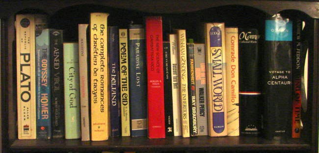 Some of the books I want to discuss on this blog.