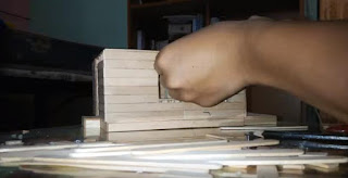 Cara Membuat Miniatur Rumah Dari Stik Es Krim
