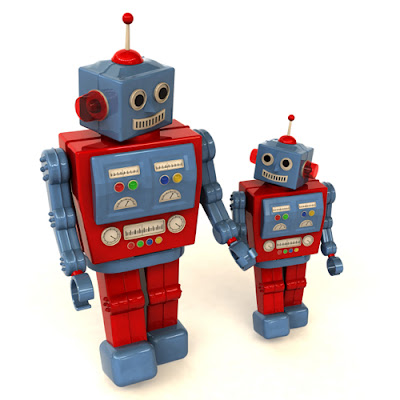 Mother Robot Selects Children For Evolution