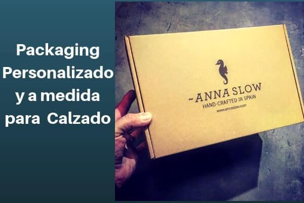 Packaging personalizado y a medida para calzado