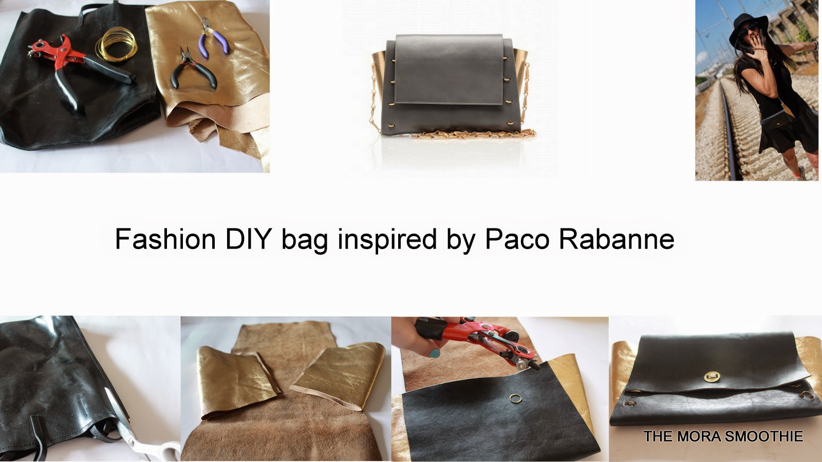 DIY, DIY bag, paco rabanne, fai da te borsa, do it your self, do it your self bag, borsa, fashion diy, fashionblog, fashionblogger, themorasmoothie, diyblog, diyblogger, fashionblogger italiana, diy blogger italia, italia fashion blog, fashionblogger italiane, italianfashionblog
