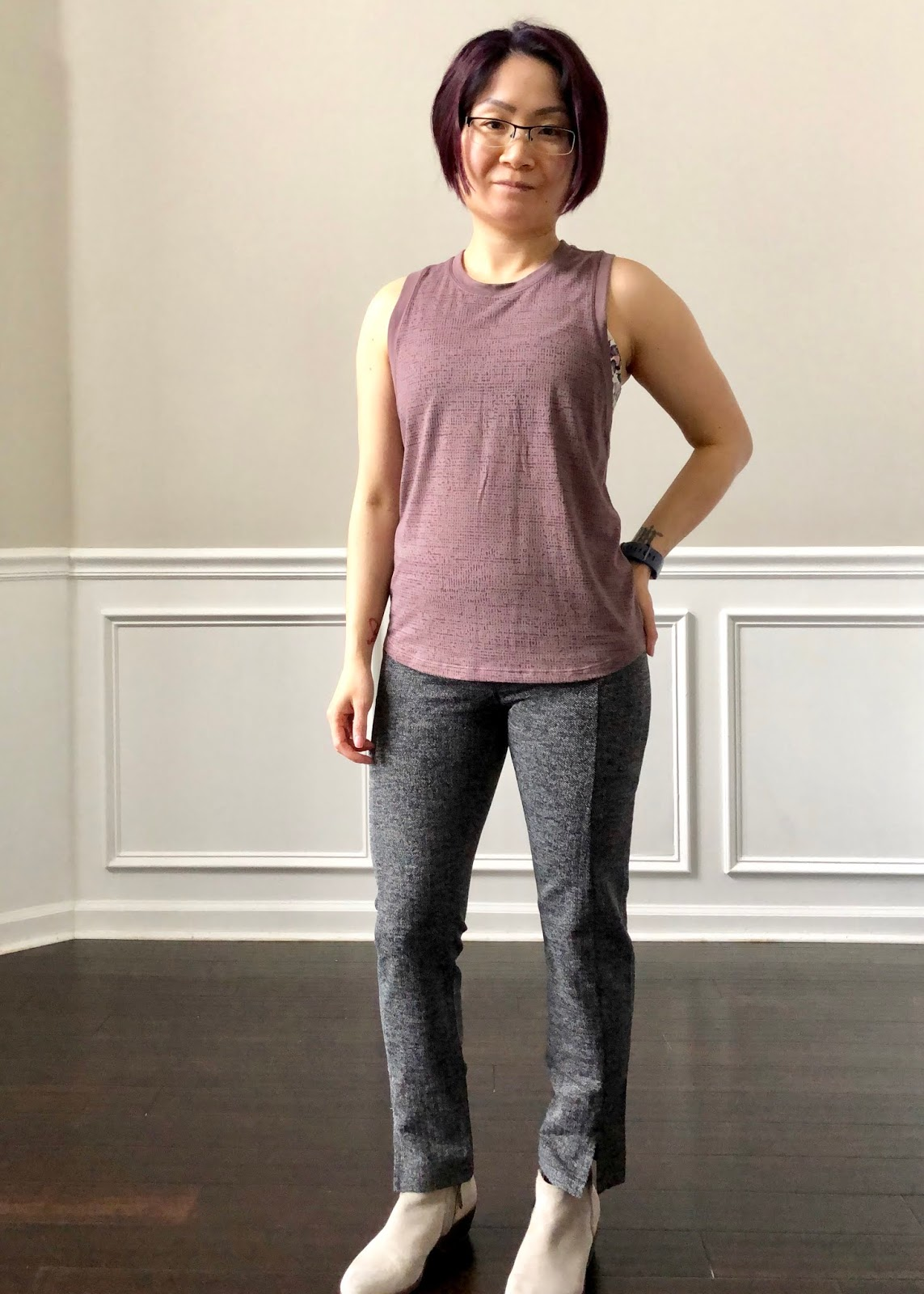4884b22673cd For reference I m 4 feet 11 and typically a size PXS in Athleta tops and  bottoms. In Lululemon I wear a size 4 in bottoms.