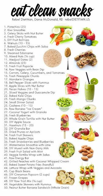 Jenis-Jenis Snek Sihat Untuk Diet