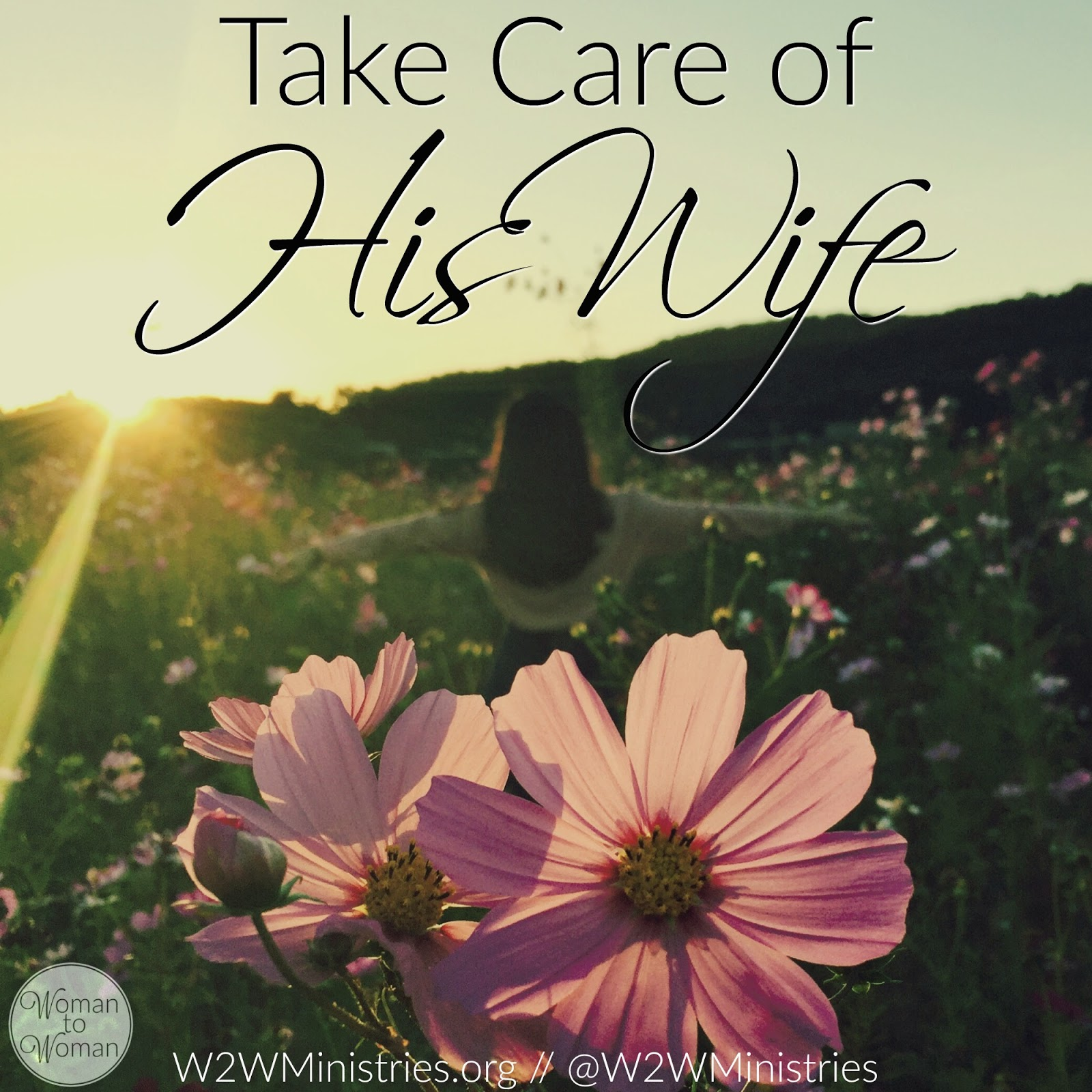 Woman To Woman Take Care Of His Wife-4618