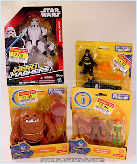Imaginext DC Comics Poison Ivy Batman Star Wars Hero Mashers Storm Trooper